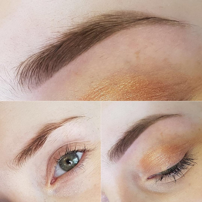 Natural Enhancement eyebrows